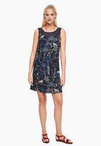 s.Oliver - Day dress - dark blue floral aop - 3