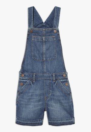 GIRL SHORTALL - Overall /Buksedragter - blue denim