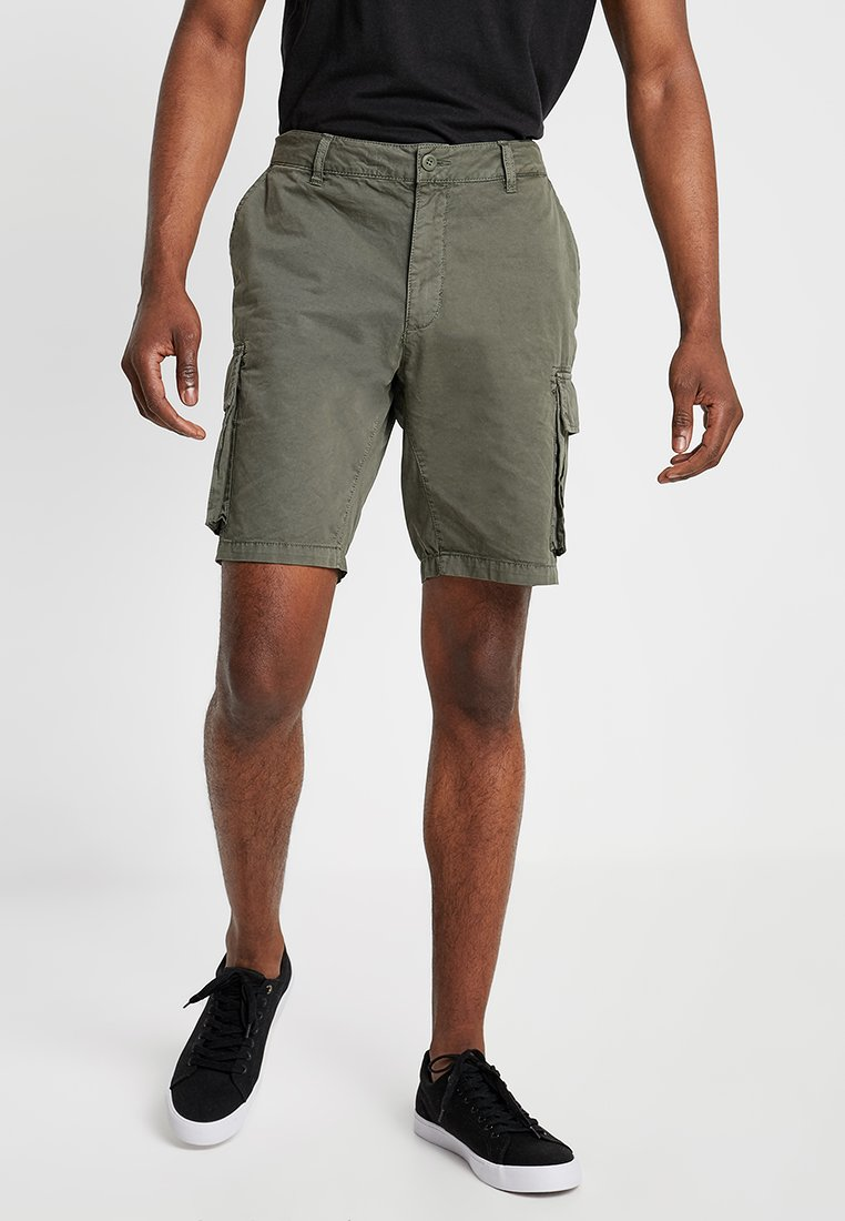 Pier One - Shorts - oliv