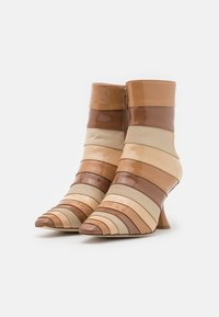 Jeffrey Campbell - LAYOVER - Classic ankle boots - nude/multicolor - 2