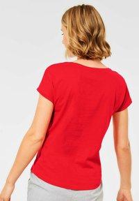 Cecil - Print T-shirt - rot - 1