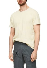 s.Oliver - Print T-shirt - yellow - 3
