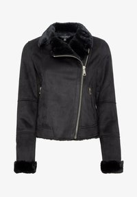 Dorothy Perkins - Faux leather jacket - black - 3