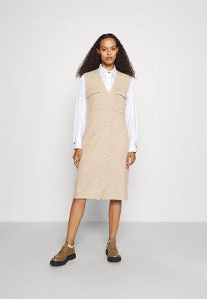 POCKET DRESS - Jumper dress - beige