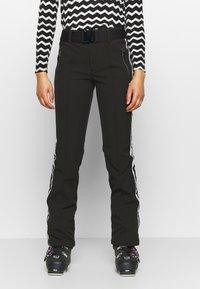 Luhta - HAAPALA - Snow pants - black - 0