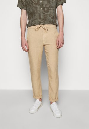 TROUSERS - Pantaloni - cookie