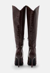 4th & Reckless - SHEA - Vysoká obuv - brown - 3