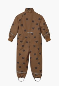 Mini Rodini - KEBNEKAISE HEARTS - Snowsuit - brown - 3