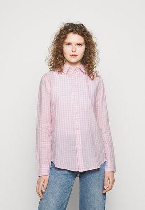 GINGHAM - Button-down blouse - garden pink