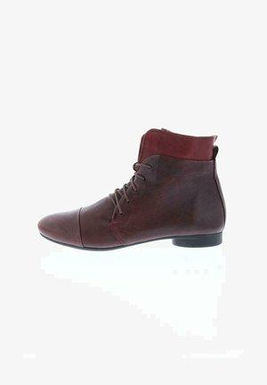 Lace-up ankle boots - chianti/kombi