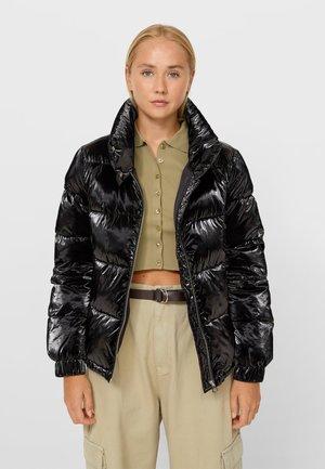 GLÄNZENDE STEPP - Light jacket - black
