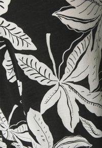 Marks & Spencer London - FLORAL TIER SKIRT - A-line skirt - black - 2