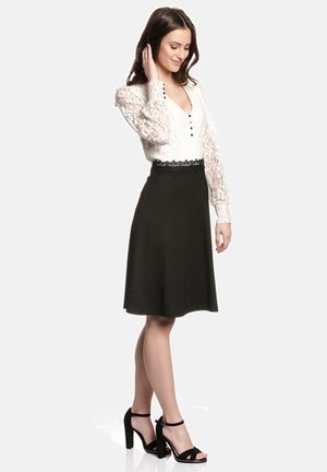 GIGI LACE - Day dress - schwarz/creme