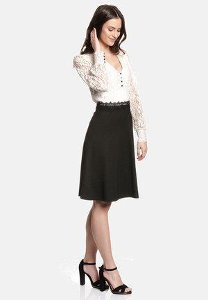 GIGI LACE - Day dress - schwarz/creme