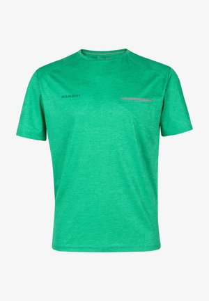 CRASHIANO - T-shirt basic - light emerald melange