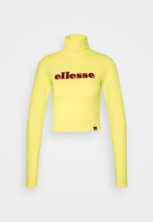 VORAN - Long sleeved top - yellow