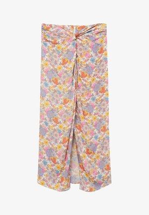 A-line skirt - pastelroze