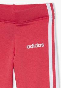 adidas Performance - UNISEX - Legging - core pink/white - 3