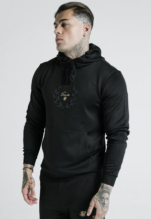 X DANI ALVES MUSCLE FIT OVERHEAD HOODIE - Mikina s kapucí - black/gold