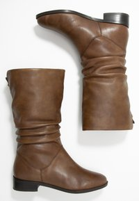 Dune London - ROSALINDA - Vysoká obuv - tan - 3