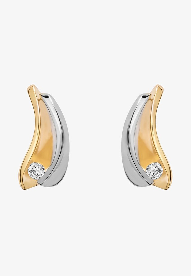 Earrings - bi-coloured
