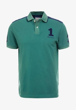ARCHIVE  - Polo shirt - green/navy