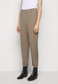 Filippa K - KARLIE TROUSER - Trousers - grey taupe - 0