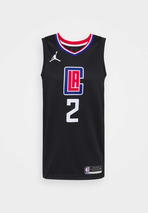 NBA LOS ANGELES CLIPPERS KAWHI LEONARD SWINGMAN - Club wear - black/university red/rush blue