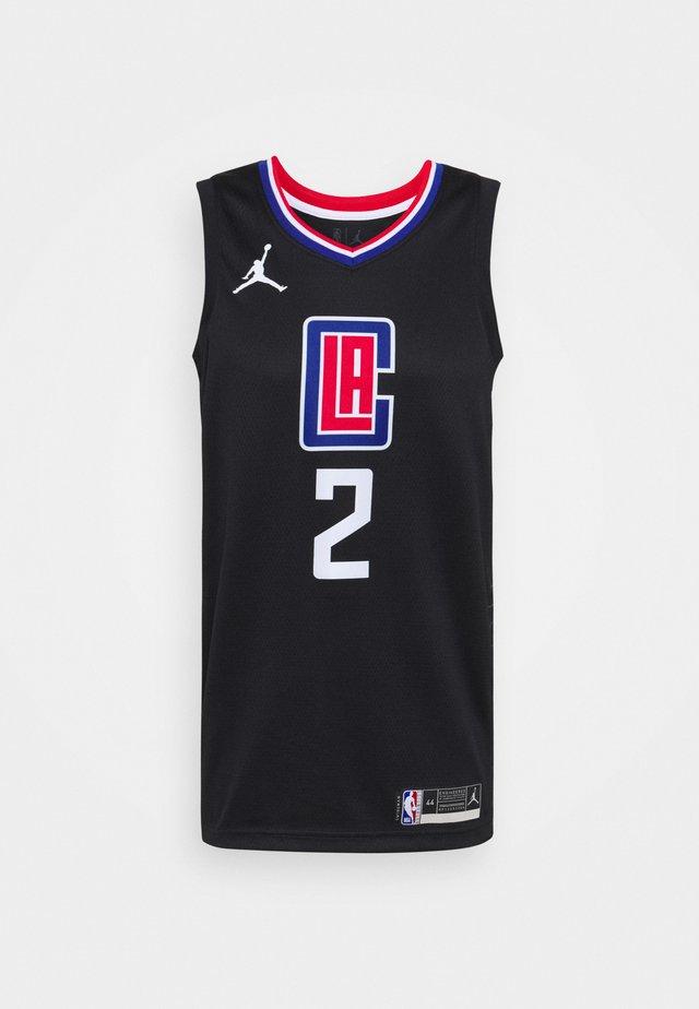 NBA LOS ANGELES CLIPPERS KAWHI LEONARD SWINGMAN - Article de supporter - black/university red/rush blue