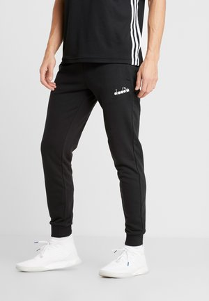 CUFF PANTS CORE - Træningsbukser - black