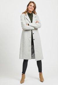 Object - Zimní kabát - light grey melange - 1