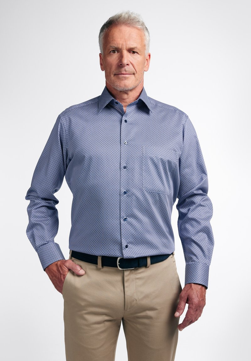 Eterna - COMFORT FIT - Shirt - blau