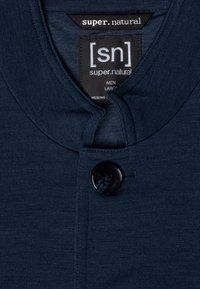 super.natural - WENGER - Zip-up hoodie - dark blue - 3