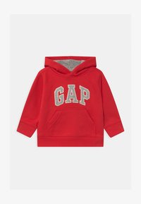 GAP - TODDLER BOY LOGO - Bluza z kapturem - red wagon - 0