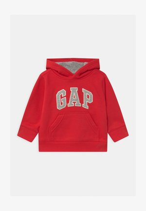 TODDLER BOY LOGO - Jersey con capucha - red wagon