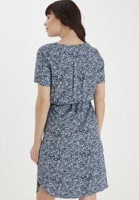 Fransa - Day dress - cashmere blue mix - 2