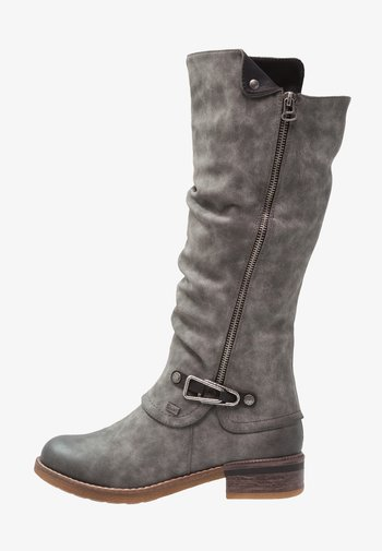 Winter boots - smoke/nero