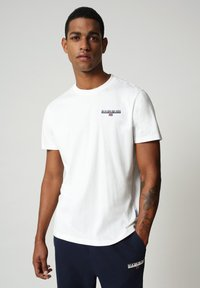 Napapijri - S-ICE SS - Print T-shirt - bright white - 0