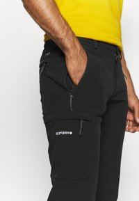 Icepeak - BOUTON - Outdoorové kalhoty - black - 4
