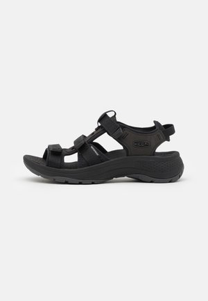 ASTORIA WEST OPEN TOE - Sandales de randonnée - black
