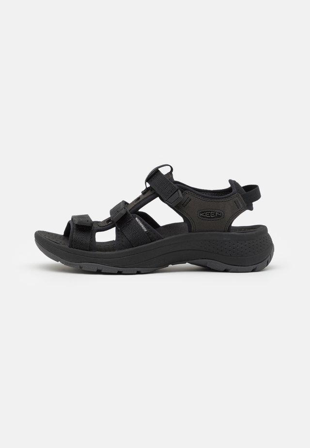 ASTORIA WEST OPEN TOE - Vandringssandaler - black