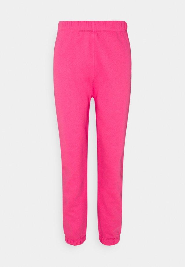 ENMONROE PANTS LOGO - Teplákové kalhoty - magenta