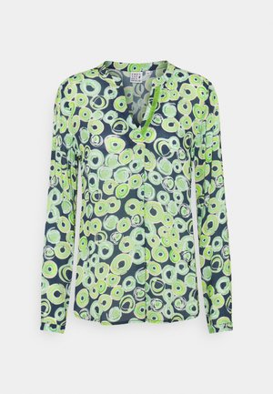 Blouse - green/navy