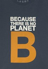 Ecoalf - GREAT B UNISEX - T-shirt print - navy - 2