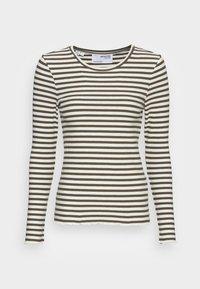 FANNA CREW NECK TEE  - Long sleeved top - kalamata