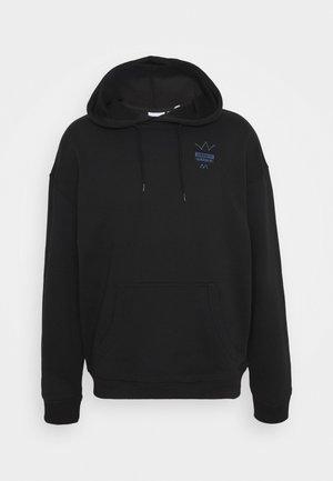 ABSTRACT HOODY UNISEX - Jersey con capucha - black