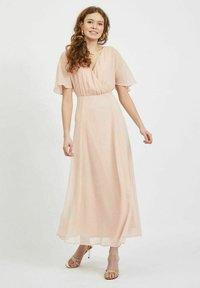 Vila - Maxi dress - rose smoke - 0