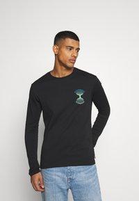YOURTURN - Long sleeved top - black - 0