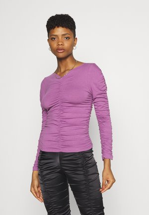 Long sleeved top - dusty purple