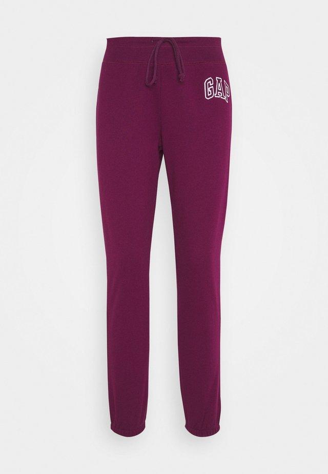 Teplákové kalhoty - beach plum